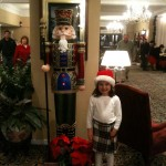 Anne Shelton and a Nutcracker